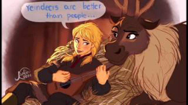 Reindeers Are Better Than People (Female Cover)