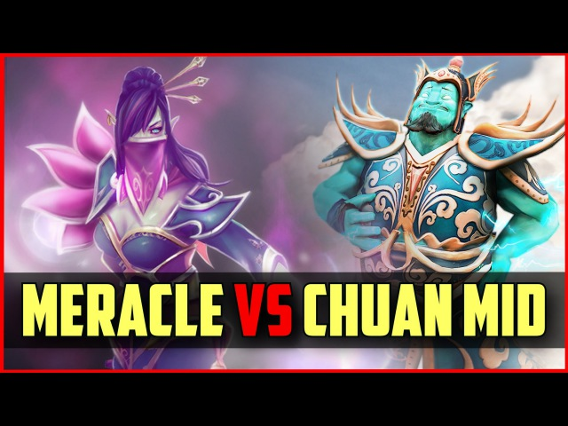 IG.Chuan Storm Spirit vs Meracle TA MID | ranked DOTA 2 gameplay