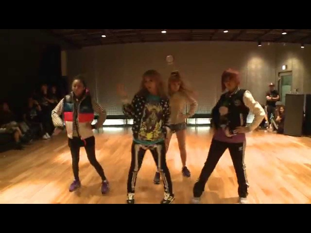 2NE1 I AM THE BEST Choreography Practice (Uncut Ver.)