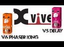 Xvive V5 Delay V6 Phaser King Pedal Demo