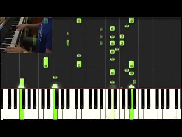 Как играть Пираты Карибского моря (Pirates of the Caribbean, Piano Tutorial)
