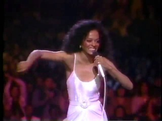 Diana Ross _ Michael Jackson- UPSIDE DOWN- 1981-FORUM-L.A.