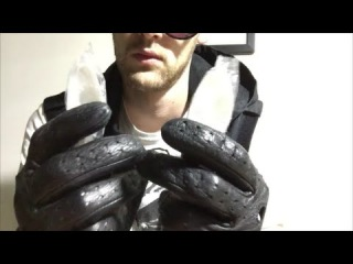 ASMR Leather Gloves 3 Spoons