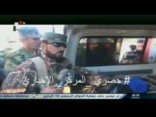 لقطات من استقبال قائد قوات فك الحصارلجرحى