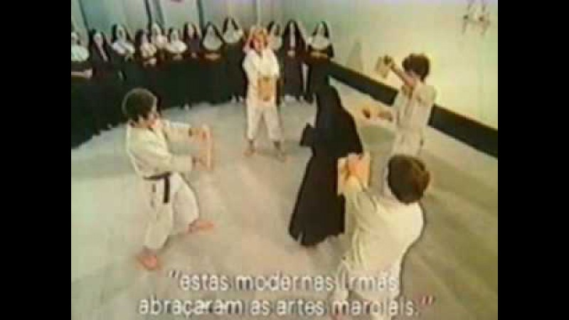 Martial Arts Karate and Aikido Nuns learn them as self defense