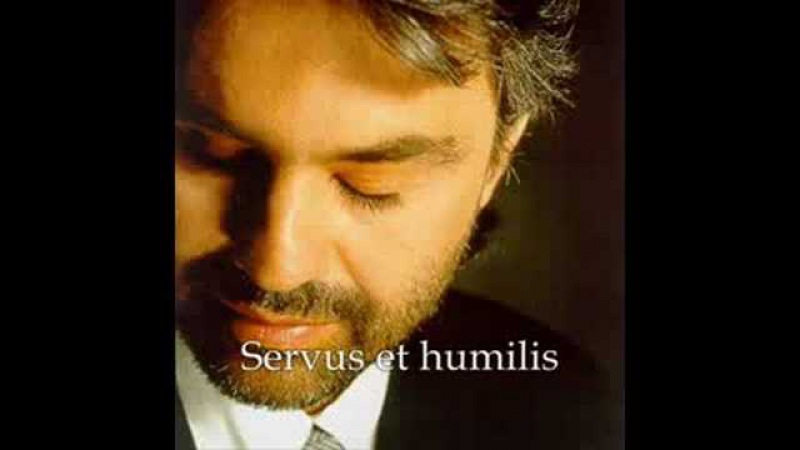Andrea Bocelli Panis Angelicus