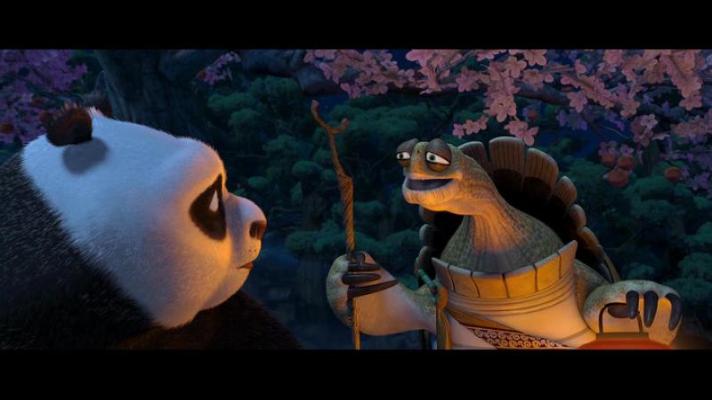Учись быть в настоящем - Кунг-фу Панда (2008) [отрывок фрагмент эпизод]