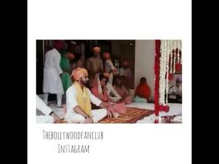 The Bollywood Fanclub  on Instagram: The actual wedding (Anand Karaj) Waheguru bless #Shahidkapoor #bollywood #Indian #Sikh #Wedding #Hindu #Waheguru #Mirarajput