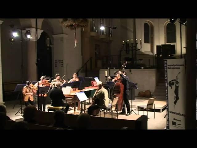 Ton Koopman and EUBO 2010 perform Van Wassenaer in Bad Gandersheim Germany