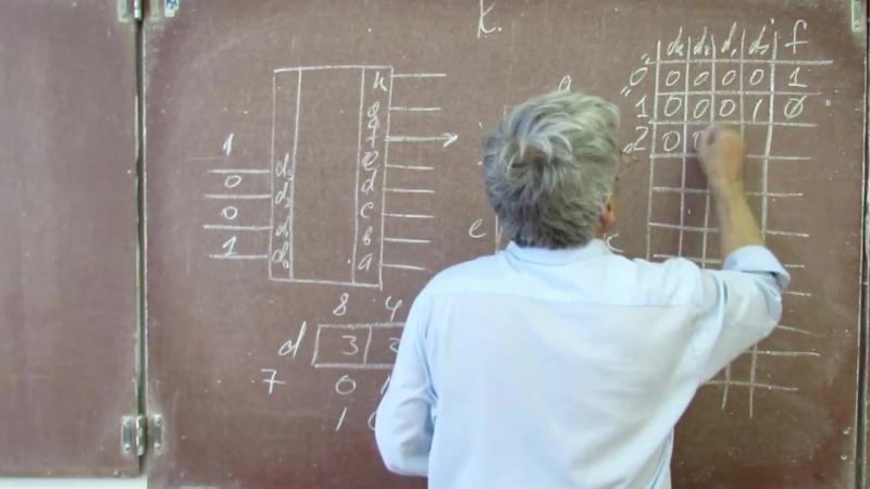 Лекция 78 Комбинационные логические схемы ДНФ