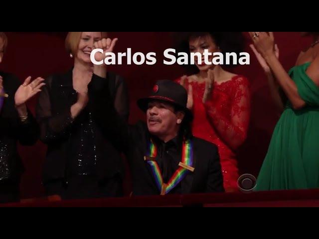 Carlos Santana Kennedy Center Honors 2013 Complete Full Clip