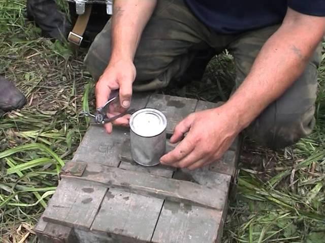 Дегустация консервов 70летней давности из пакета Н З летчика истребителя