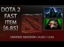 Dota 2 Fast Item - Universe Abaddon » Vladmir's Offering » 12:56 [6.85]