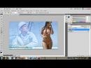 Как наложить фото на фото HD