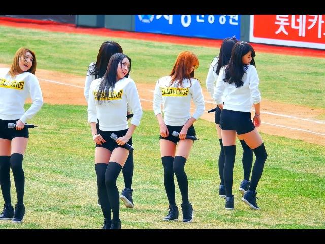 Fancam 직캠 150328 부산 롯데자이언츠 개막전 헬로비너스 HELLOVENUS 위글위글
