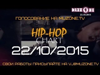 HIP-HOP CHART на MUZZONE, 22/10/2015