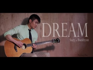 Dream - 수지,백현 (Suzy, Baekhyun) Cover - Acoustic Guitar (LeonGuitar)
