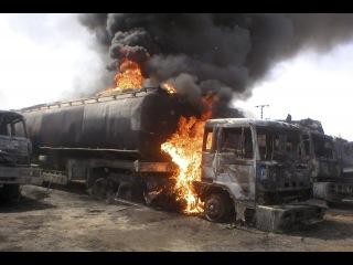 Сирия! Война! ГОРЯТ НефтеВозы Террористов ИГИЛ! SYRIA OF WAR! Новости Сирии и Мира - YouTube