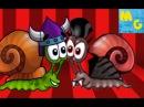 Улитка Боб дерется с Графом Дракулой! 4 серия мультик игра