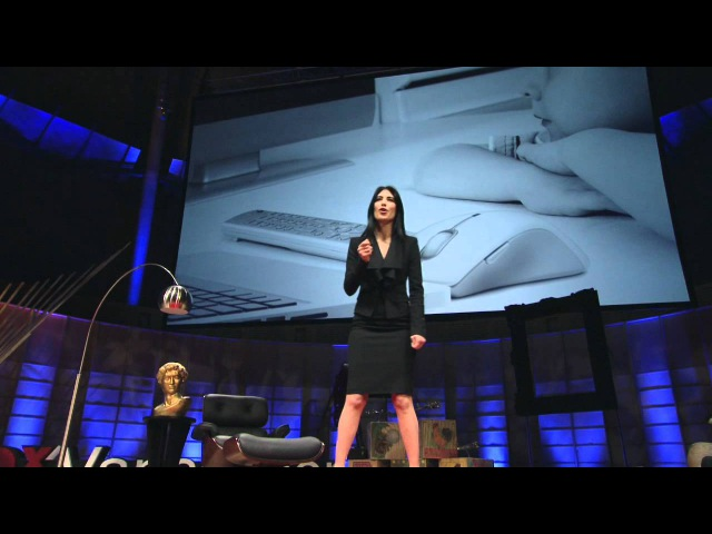TEDxVancouver Shahrzad Rafati You are what you watch
