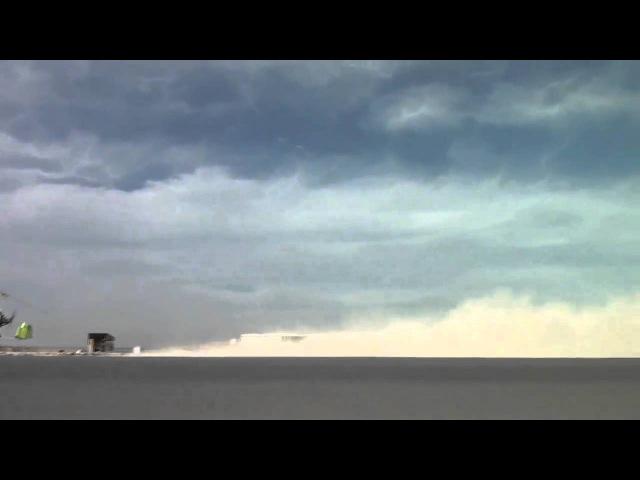 Qatar Auto-Gyro, Gyroplane in strong wind!