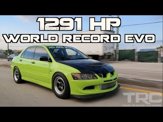 "Mitsubishi Evo World Record 1291HP - ""The Family Sedan"""