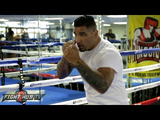 Deontay Wilder vs. Chris Arreola full video- COMPLETE Arreola media workout video
