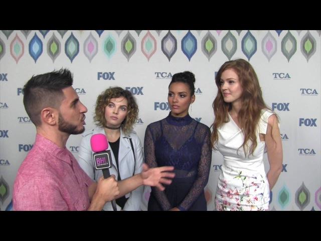 Cast of Gotham at the FOX Summer 2016 TCA Black Hollywood Live