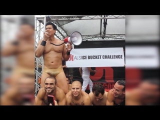 Gachimuchi - van darkholme als ice bucket challenge at folsom street fair 2014_(1080p)