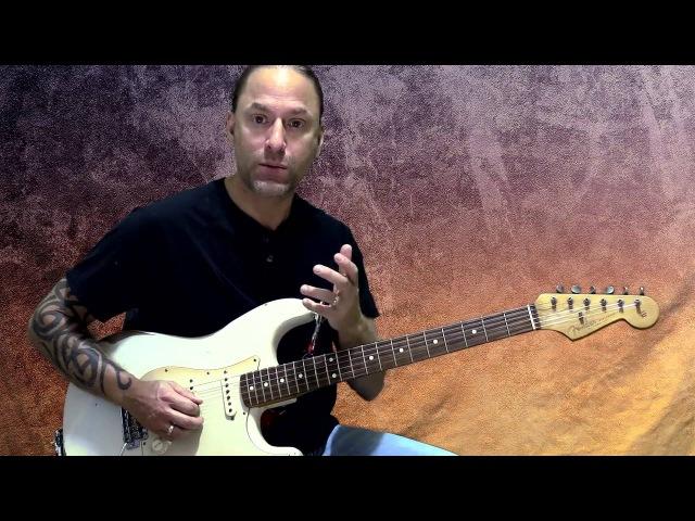 Steve Stine Guitar Lesson - Learn David Gilmour Solo Style