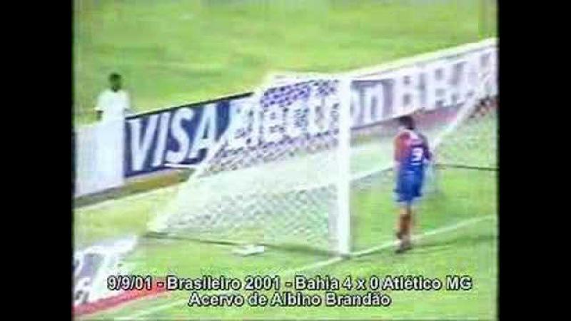 Gol de Nonato Bahia 4x0 Atlético-MG (09092001)
