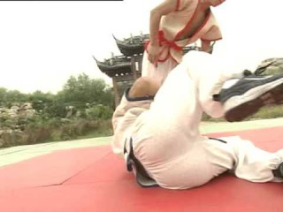 Shuai Jiao Chinese Wrestling by Wang Wenyong (Part 2/4)