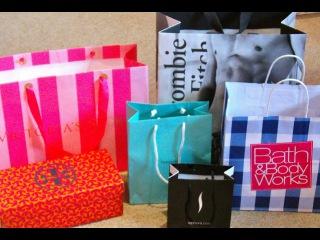 Huge Vacation Haul Tiffanys, Abercrombie, Victorias Secret, Sephora