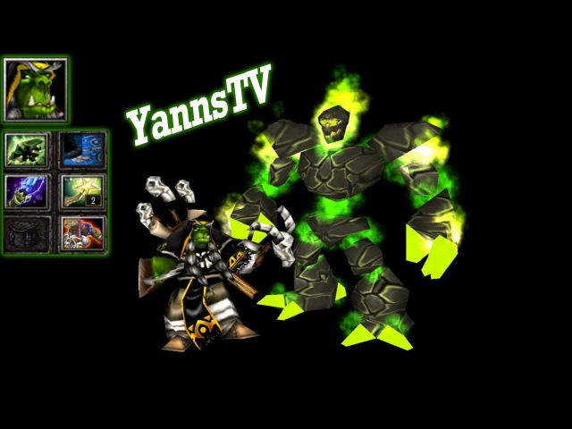 DotA 6.83d Gameplay - Warlock