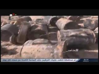 Полковник Сухейль аль-Хасан в Шалейле и Кханасере 26 февраля 2016 :