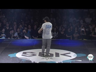SDK ASIA 2016 Finals - Popping 1on1 - Louis Vs Bobby |