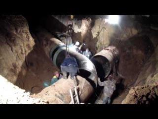 Водоканал Таганрог : перенос участка водовода на трассе Ростов - Таганрог
