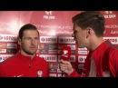 Śmieszny wywiad Wojciecha Szczęsnego po meczu Polska - Gibraltar (07.09.2015)