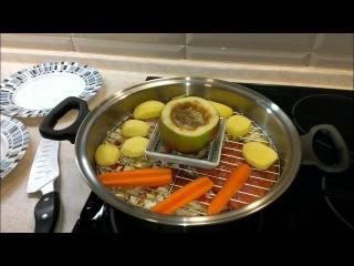 Уникальные свойства сковороды ВОК iCook. Все блюда одновременно.
