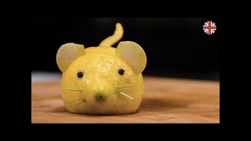 Lemon mouse A funny side dish Tutorial Visualfood