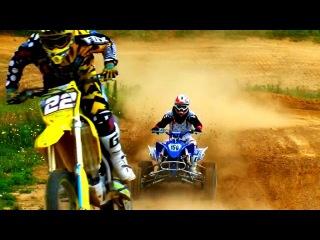 ATV vs Dirtbike - Yamaha vs Suzuki
