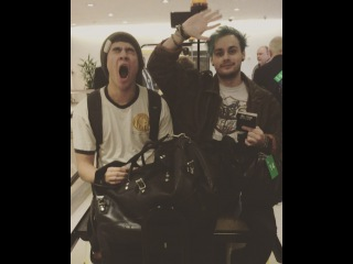 5 Seconds of Summer on Instagram: Bye bye Singapore  careful when you open this, Calum will eat you