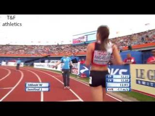 100m Hurdles Women's Semifinal 2 - European Athletics Championships 2016
