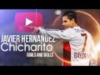 Javier ''Chicharito'' Hernandéz ►Can't Stop   Amazing Goal Show - Leverkusen - 2015/16 - HD