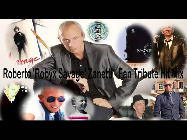 Roberto Robyx Savage Zanetti Fan Tribute Hit Mix (Eurodance Italo 80s 89s)