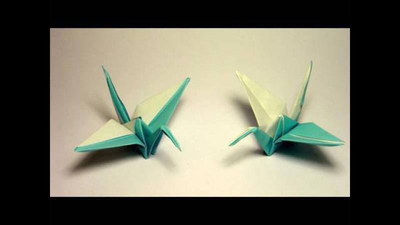 Origami Tsuru 2 colors
