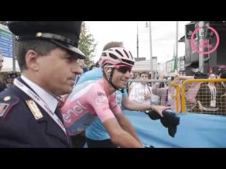 L'arrivo di Nibali. Il Giro  suo