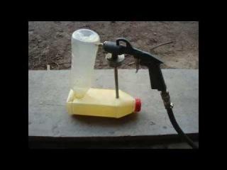 Как промыть пистолет для гравитекса или мойка своими руками!