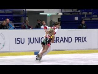 Arina USHAKOVA / Maxim NEKRASOV RUS SD 2016 ISU Junior Grand Prix - Ostrava