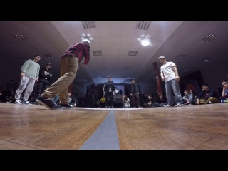Funky Man 9 | Popping 1/4 final Pino4et vs Богдан